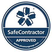 SafeContractor Accreditation Sticker 175px